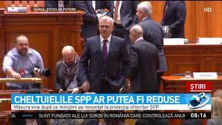 Vicepremierul Paul Stănescu aruncă bomba pentru SPP.  Serviciul de Pază și Protecție va fi rest