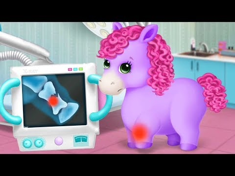 Pony Sisters Pet Hospital - Take Care Of The Cute Animals - Fun Kids Games By TutoTOONS