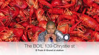 Alex Eats NYC: The Boil NYC: Crawfish Boil ASMR