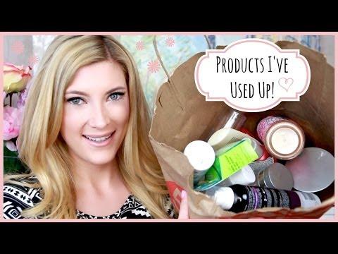 LOTS of Products I've Used Up! ♥ MakeupMAYhem Day 3
