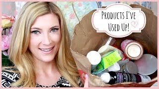 LOTS of Products I've Used Up! ♥ MakeupMAYhem Day 3 Thumbnail