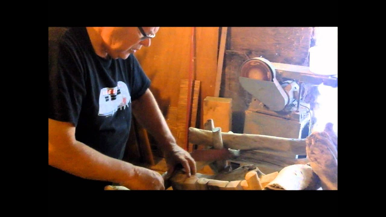 Making Two Driftwood Chairs With Music U0027Olives And Grapesu0027   YouTube