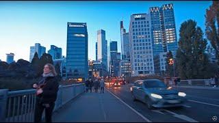 Gambar cover FRANKFURT GERMANY WALKTHROUGH - 4K Travel and Natural Ambiance HD