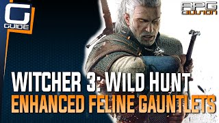 Witcher 3: The Wild Hunt - Enhanced Feline Gauntlets Diagram Location (Cat School Gear)