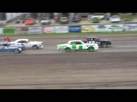 Dacotah Speedway Hobby Stock Heats (6/2/17)