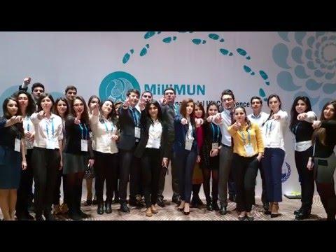 2016 Milli MUN Konfransı - 2016 National MUN Conference in Azerbaijan