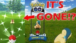 Cyndaquil Community Day Shiny Hunting - Pokemon Go!