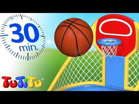 TuTiTu Specials | Basketball | Best Kids Toys | 30 Minutes Special