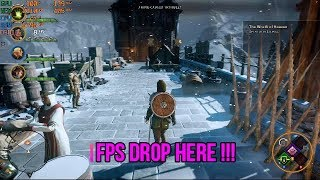 Dragon Age Inquisition Game Ultra Setting FPS Test on GTX 1070 Laptop