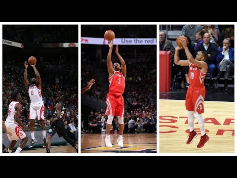 Rockets Are The Fastest Team in NBA History to Reach 1,000 3 Pointers Made!