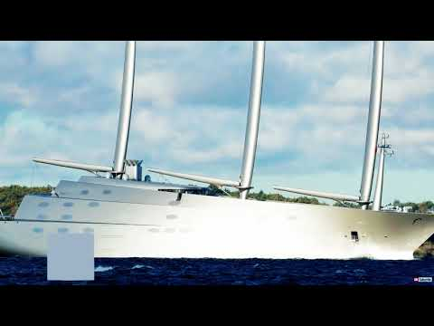 SAILING YACHT A | Yachts You Will Never Own #9 | Avalon Pontoons