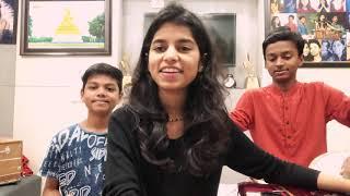 Tere mast mast do nain (COVER) by Rishav Thakur, Maithili Thakur and Ayachi Thakur