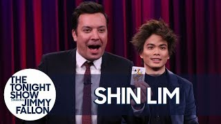 Shin Lim Makes Pieces of a Card Disappear and Reappear for Jimmy and Questlove