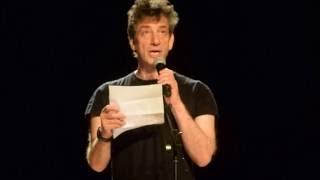 "Neil Gaiman reads Leonard Cohen's ""Democracy"""