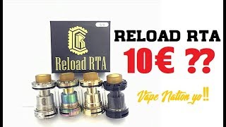 Clon del Reload RTA por 10€ LOW COST VAPE NATION