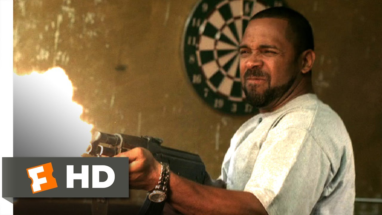 Next Day Air (9/9) Movie CLIP - Shootout (2009) HD - YouTube