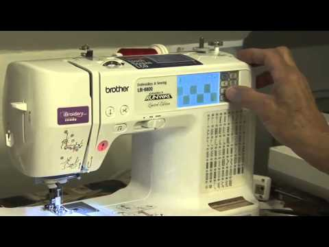 Embroidery Machine Library