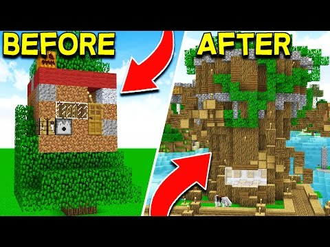 HOW TO MAKE THE ULTIMATE MINECRAFT TREE HOUSE! (EP 5)