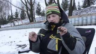 Фидерная рыбалка зимой в снегопад   Январь 2018 1