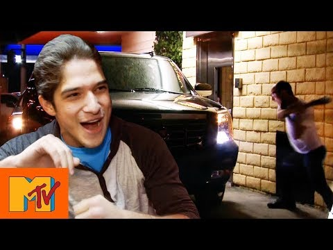 Teen Wolf Star Tyler Posey's Car Gets Destroyed | Punk'd