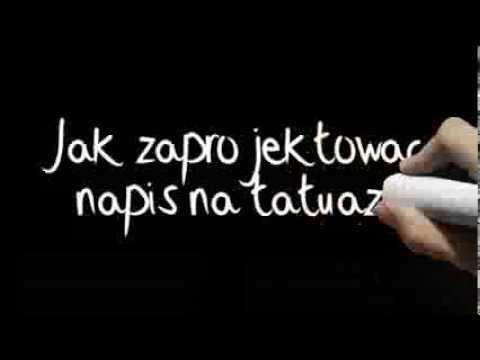 Jak Zaprojektowac Napis Na Tatuaz Wstep