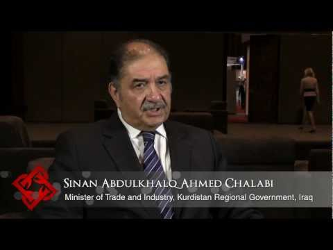 Executive Focus: Sinan Abdulkhalq Ahmed Chalabi, Minister of Trade and Industry, KRG