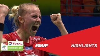 TOTAL BWF SUDIRMAN CUP 2019   WS   INDONESIA VS DENMARK   BWF 2019