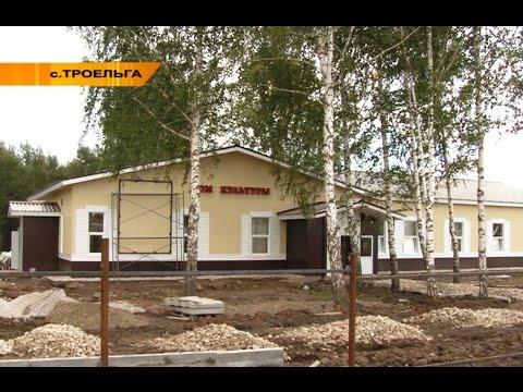 Село Троельга. Новый Дом культуры (2015 г)