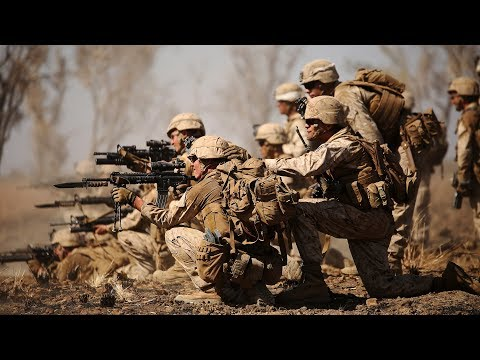 US Marines Training - Military Exercises