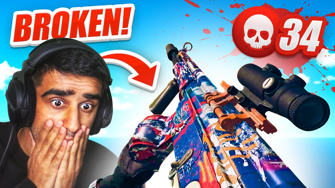 This C58 Loadout is BROKEN in WARZONE! - 34 KILL GAME