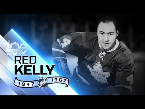 Red Kelly won Cup four times each with Wings, Leafs
