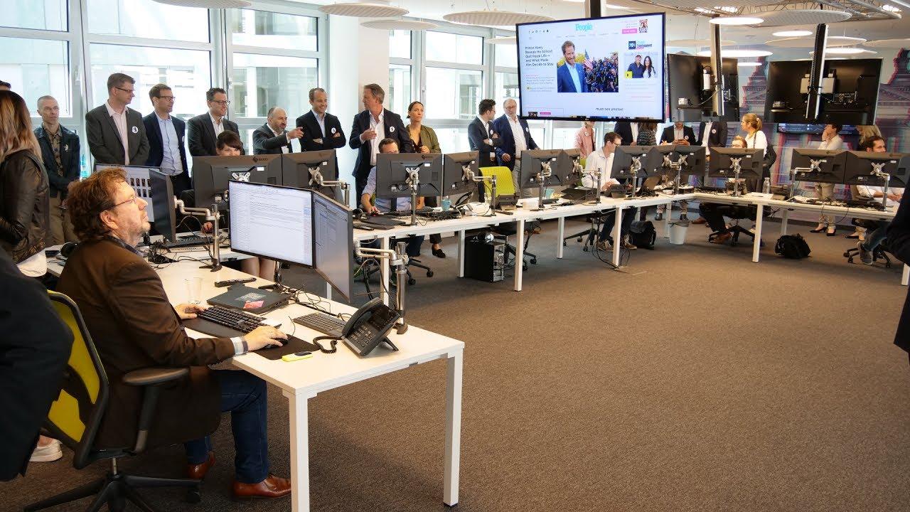 T-Online.de eröffnet Berliner Newsroom