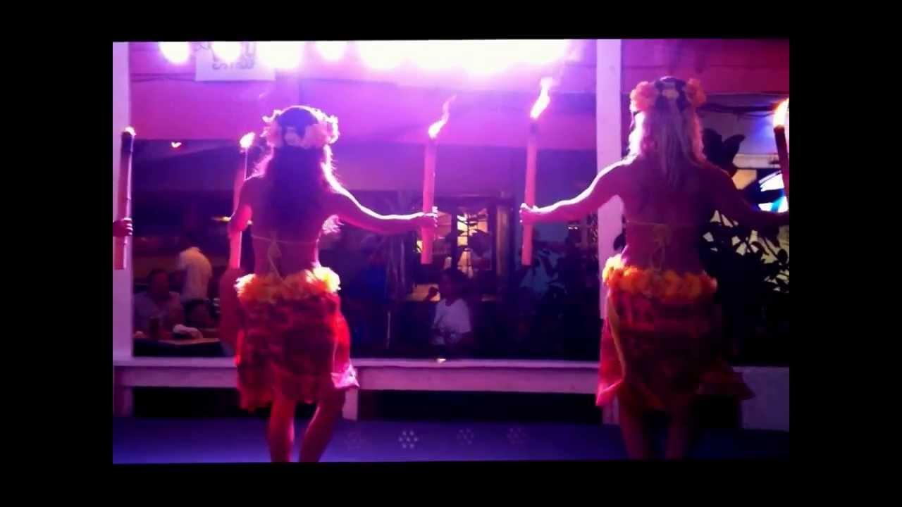 hula dancers at louie u0027s backyard luau south padre island