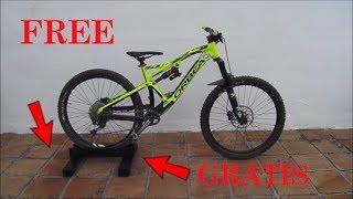 Cómo Hacer Un Soporte Casero Para Tu Bicicleta How To Make A Handmade Bike Stand Youtube