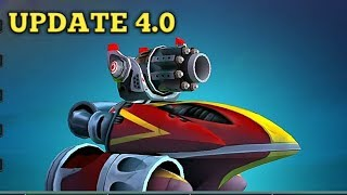 UPDATE 4.0 | NEW SHIP INTERCEPTOR GAMEPLAY FT. Wild Gansta Don | battlebay #skychop #battlebay