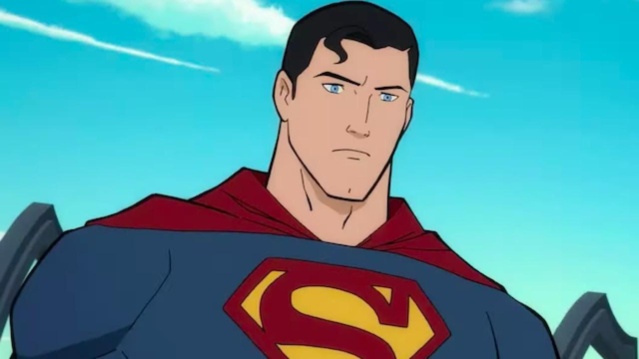 Мультфильм - Супермен: Человек завтрашнего дня / Трейлер 2020 (ENG)