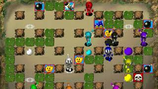 Atomic Bomberman - 10 Player Match (vs. CPU) #3