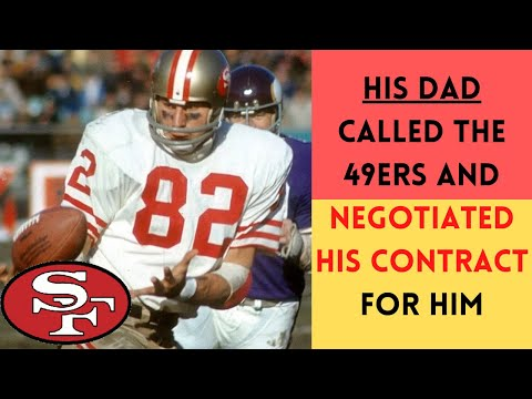 [OC] [Highlight] In 1969, the 49ers spent their 1st rounder on TE Ted Kwalick. After the sides went nowhere in negotiations, Kwalick's father was so upset that he personally called up the 49ers and negotiated his son's contract for him. This is the story behind one of the strangest negotiations ever