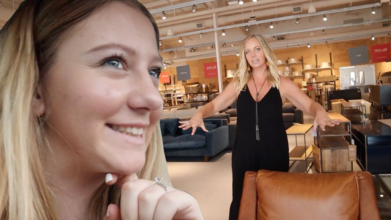 c0e96fe4f38d85 Furniture Shopping For Our New House! | Teen Mom Vlog – Shopping time
