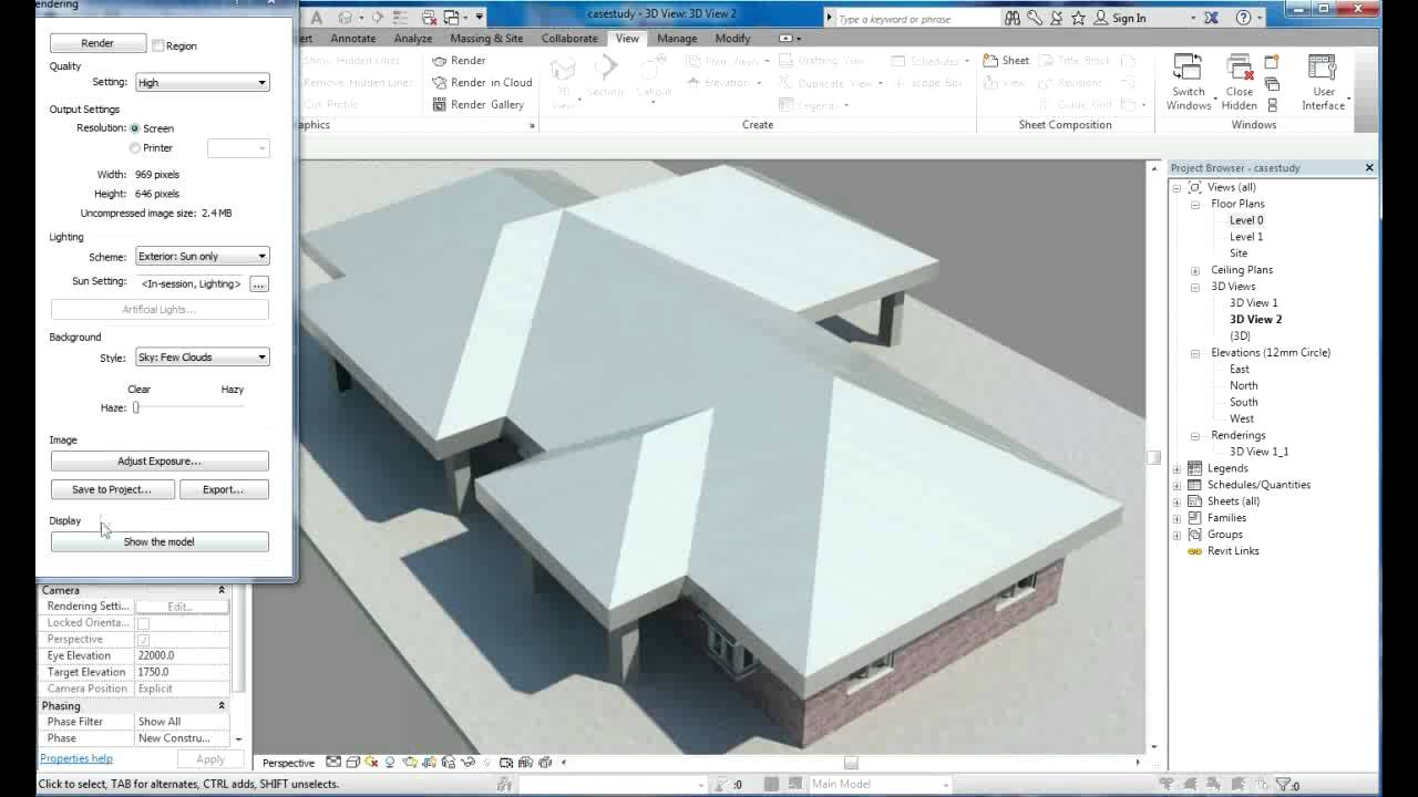 Revit Tutorial | Revit Architecture 2014 | Tutorial For Beginners | House  Design 4   YouTube