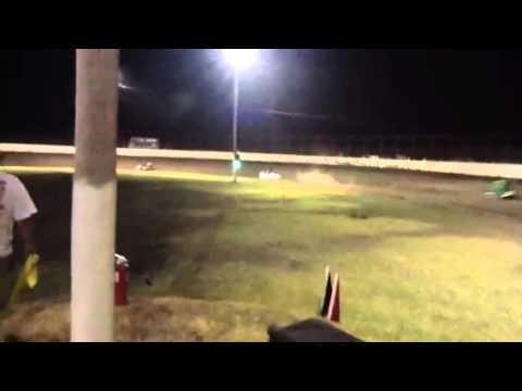 Osage Casino Caney Valley Speedway - Non Wing Micros 7/13/13