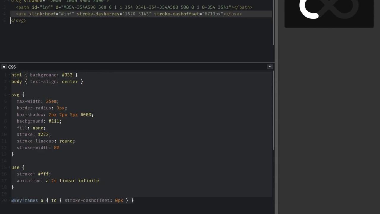 Svg Loader No Js Cross Browser Minimal Code Youtube