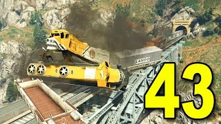 Grand Theft Auto V First Person - Part 43 - Train Heist! (GTA Walkthrough)