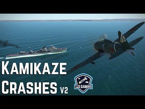 Epic Kamikaze Crash Compilation - IL2 Sturmovik Great Battles Combat Flight Simulator V2