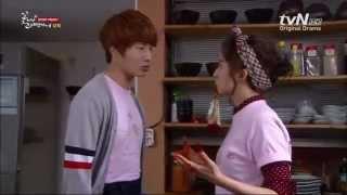 Flower Boy Ramen Shop episode 12 finger kiss