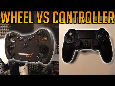 Wheel or Controller - Which is Better? (Gran Turismo Sport) thumbnail