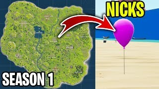 we played PROP HUNT on the Season 1 Fortnite map...