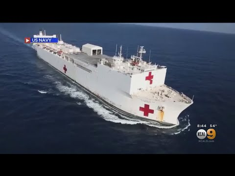 Coronavirus: Navy Ships Deploying To Coasts To Relieve Stress On Hospital Systems