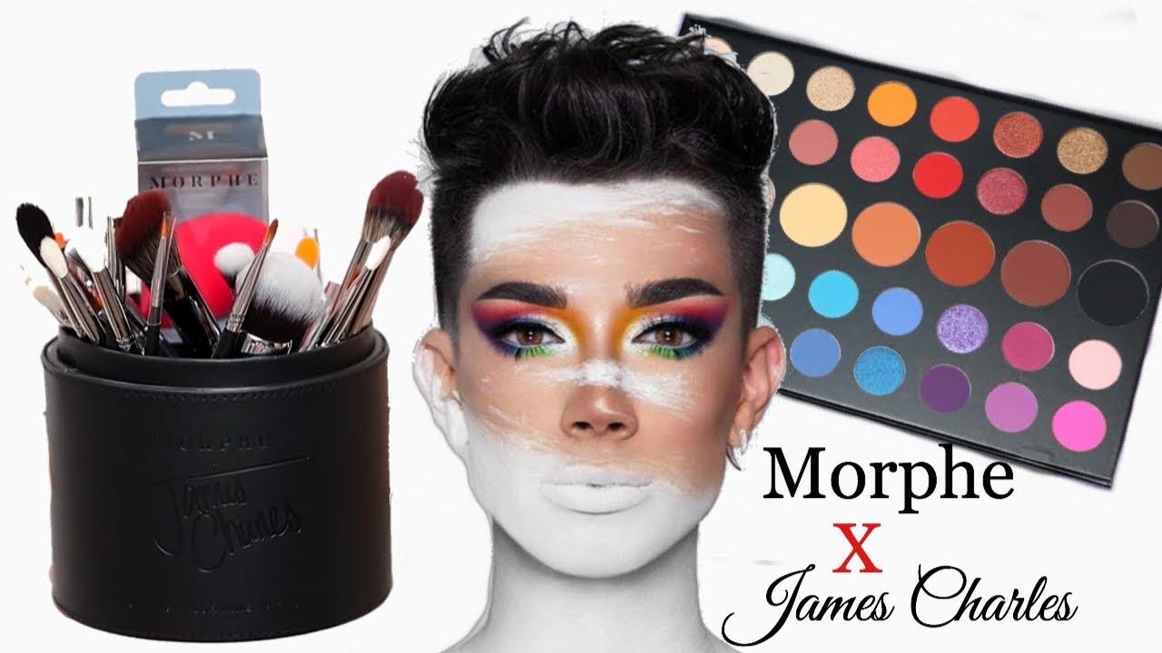 Morphe X James Charles 34 Piece Brush Set Youtube
