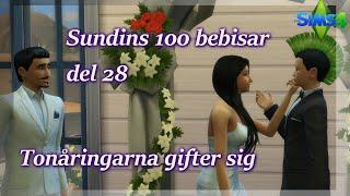 Sims 4: 100 Bebisar-utmaningen | Del 28 - Tonåringarna Gifter Sig